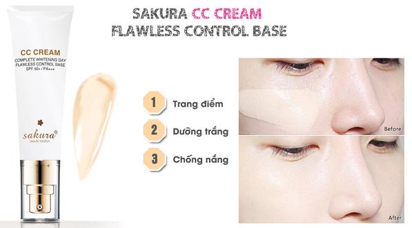 Kem trang điểm Sakura CC Cream