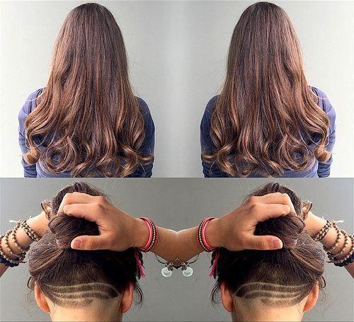 Kiểu tóc undercuut nữ ấn tượng