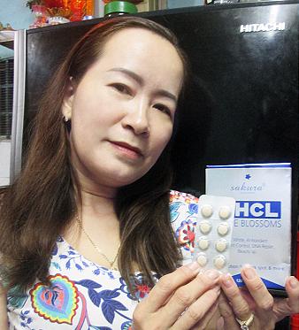 Review viên uống trị nám Sakura HCL