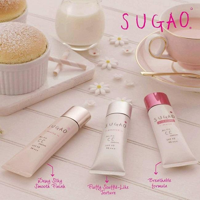 Kem trang điểm giá rẻ tốt nhất Sugao