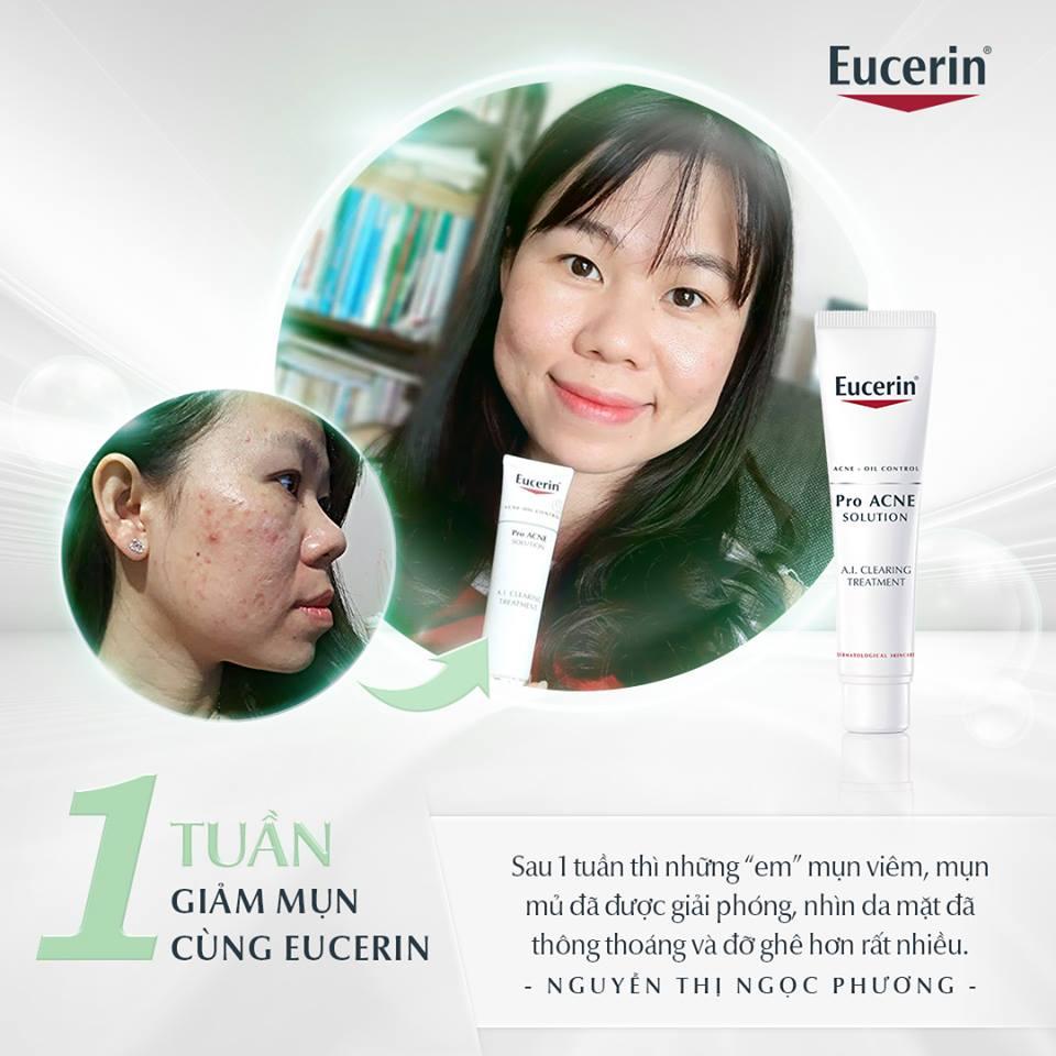 Review mỹ phẩm Eucerin có tốt không