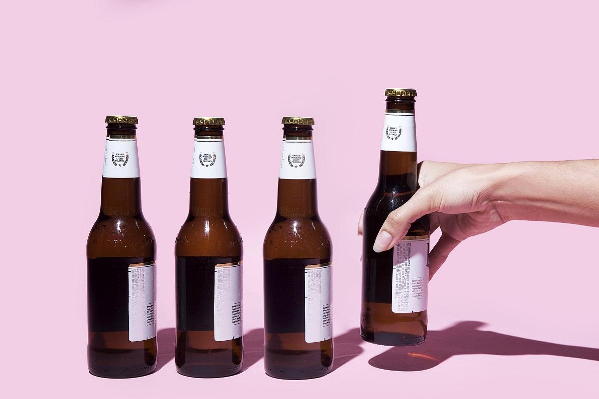 Mặt nạ dưỡng trắng da từ bia