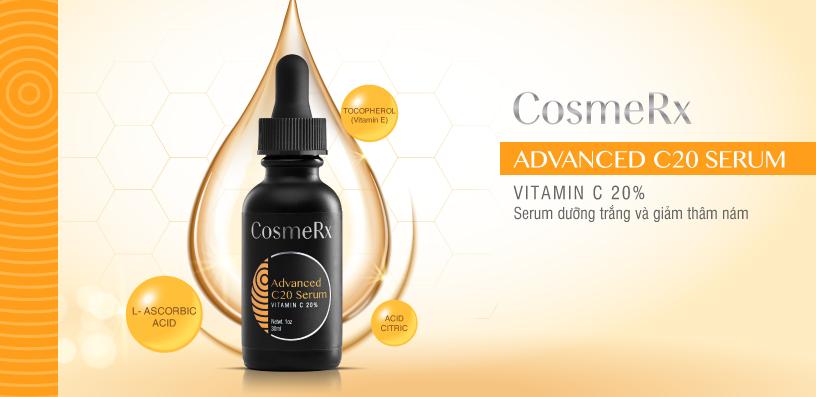 công dụng Serum CosmeRx Advanced C20