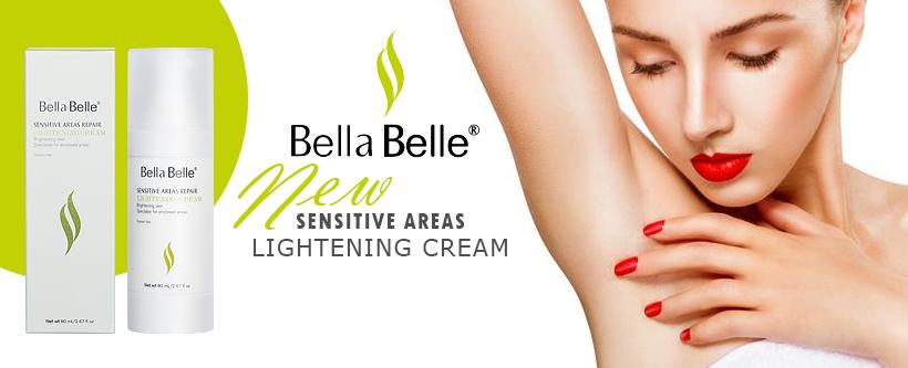 kem dưỡng trắng da vùng nhạy cảm bella belle sensetive